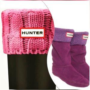 🍒NIB🍒 HUNTER BOOT SOCKS - big kids XL / M petite